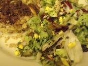 Kebbé boeuf salade fattouch... Liban mais manière