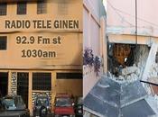 Avant-après: immeubles médias effondrés