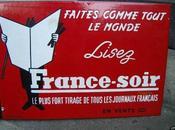 """archives """"France Soir"""" laissées l'abandon Ville"""