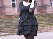 Black froufrous