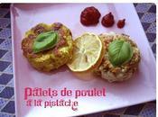 Palets poulet pistache Cerise GAGNANTE CONCOURS blog