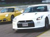 Nissan GT-R Porsche Nurburgring