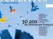 Salon Livre, littérature française