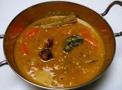 Lentilles légumes Sambhar