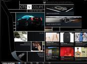 application Cadillac spéciale iPad venir