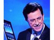 Stephen Colbert rigole l'iPad