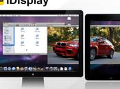 iDisplay, dual screen avec iPad iPhone