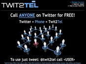 Twitter téléphone Twit2Tel