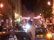 FOOT joie toute ville hier soir après victoire Sporting. Regardez