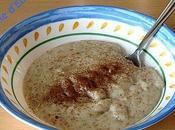 Porridge sons pour petit déj'