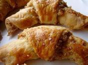 Petits croissants noix plumes