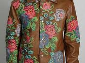 Maison Martin Margiela ''Embroidered Calf Leather Jacket''