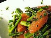Salade d'asperges froides