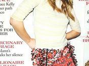 [couv] Clémence Poésy pour Tatler magazine (UK)