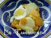 Slata masmouta Salade bouillie tunisienne
