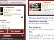 L'application Iphone Itouch jour Restos Cityvox