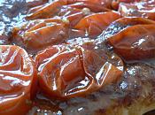 Tarte tomates cerises tapenade façon tatin
