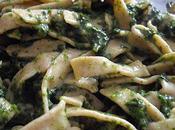 tagliatelle farine complète sauce épinard adorent