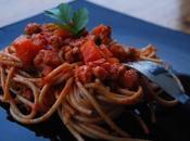 Spaghettis bolognaise végétarienne