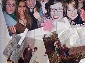 Décoration d'un cadre photos pour Lina, premier enfant cousin Arnaud femme Bahia