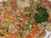 Sauté porc petits légumes