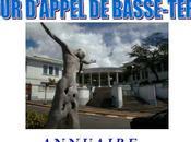 Annuaire Compagnie Experts près Cour d'Appel Basse-Terre