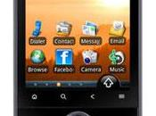 Acer beTouch E110 smartphone low-cost