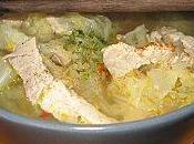 Soupe porc chou chinois