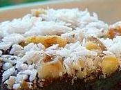 Barre noix coco fudge
