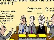 Chirac Giscard bientôt garants déficits