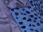 Dernière Fantaisie robe bleu intense, imprimée Léopard