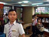 anciens militaires chinois devenus coiffeurs
