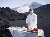 déjeuner volcanique