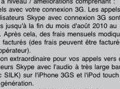 Skype fonctionne connexion