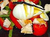 Salade poulet sauce vanillée-citronnée (par Anne-Laure)