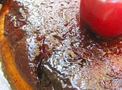 Gâteau Fromage Blanc Caramélisé Cerises