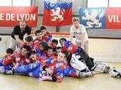 Roller-hockey cadets Yeti's bronzés