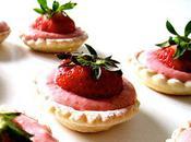Tartelettes mousse fraise