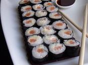 Makis maison saumon fumé comment faire concurrence resto japonais!