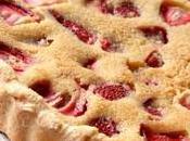 Tarte amandine fraises