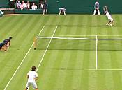 Wimbledon 2010 Vidéo Federer contre Falla (21/06/2010)