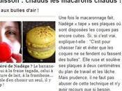 """article site """"côté-maison"""" pour macarons addict"""