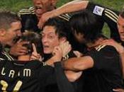 Groupe victoire l'Allemagne contre Ghana grâce Mesut Özil, allemands ghanéens qualifiés pour huitièmes finale