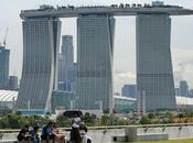 monde piscine plus impressionnante. Sands Skypark, Singapour.