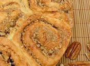 Brioche roulée noix cannelle (dutch sticky rolls, recette amish)
