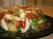 Lapin gelée légumes croquants l'estragon