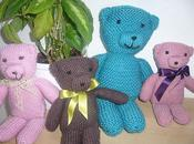 Nounours tricoter.