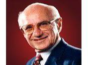 Milton Friedman crayon pouvoir marché