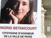 Chère Ingrid Betancourt...
