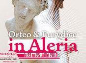 """Orfeo Eurydice"" Aléria week-end programme."